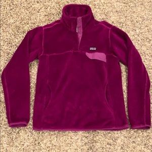 Women's medium Patagonia Re-tool Snap T Fleece